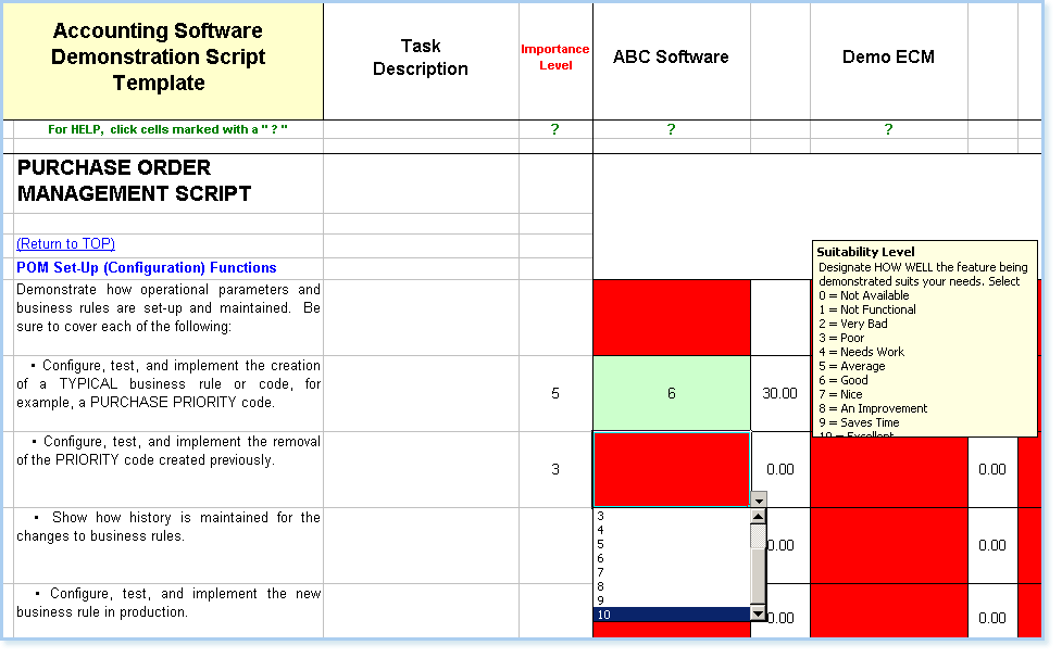example of accounting system software