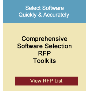 Software Selection RFPs