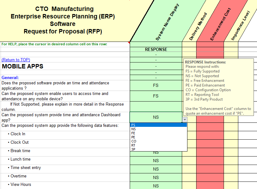 Production control sample questions