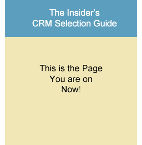 CRM Selection Guide
