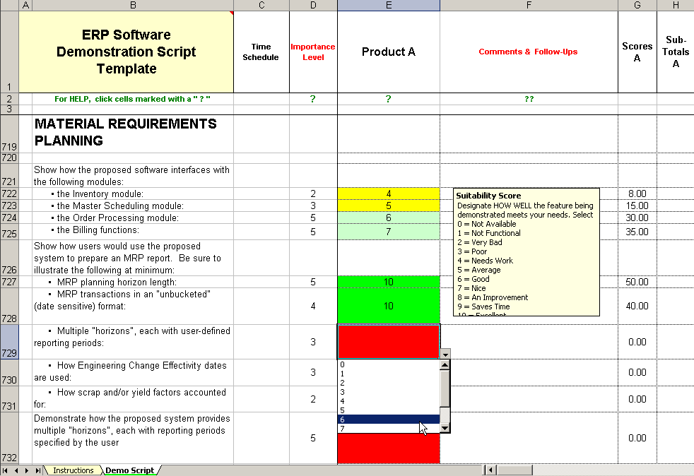 Weighted scorecard excel circuit diagram maker for Software vendor selection criteria template