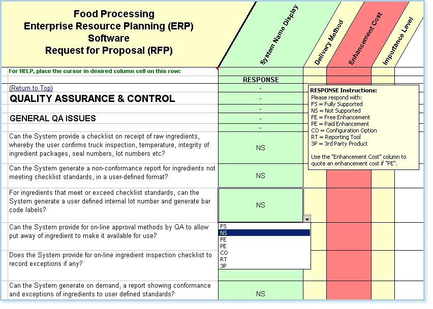 quality assurance and control sample questions