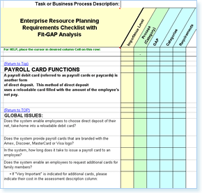 Select ERP Software Easly ERP System Selection - Erp requirements template