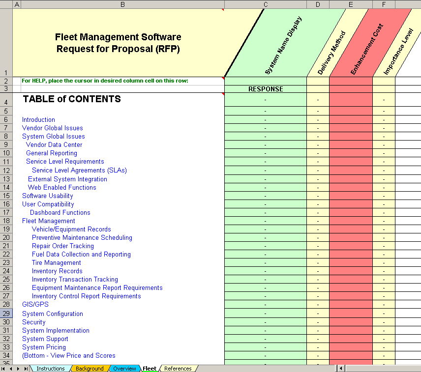 Fleet software evaluation selection fleet management system identify both software features availability and deliverability pronofoot35fo Gallery