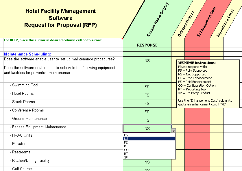 sample facilities management business plan