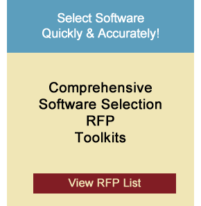 MES Software System RFP template