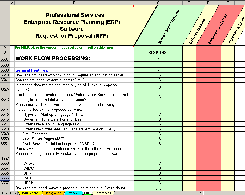 Erp Software Evaluation Amp Selection Professional Services