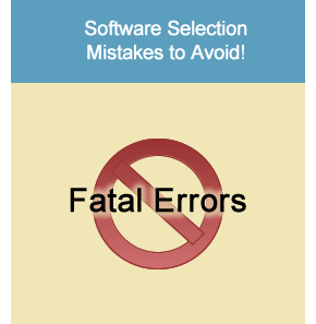ERP Software Selection Mistakes